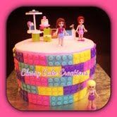 Lego Friends Cake by Classy Cake Creations