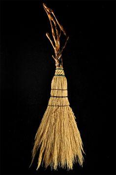 Mark Hendry. Hand Woven Broom on English Ivy