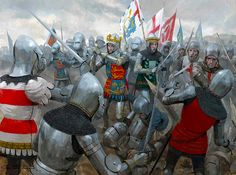 """The battle of Agincourt"" Graham Turner"