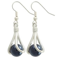 itty bitty marblePOP athena earrings French Hook * Read more reviews of the product by visiting the link on the image.