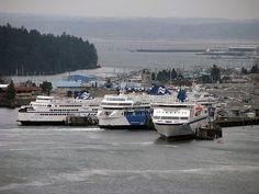B.C. Ferries at Departure Bay Nanaimo