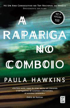 88 best livros images on pinterest livros good books and reading paula hawkins a rapariga no comboio fandeluxe Gallery