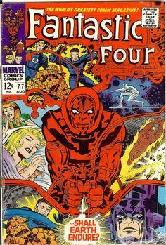 Fantastic Four #77 - de mémoire, c'est le tout premier FF que j'ai lu
