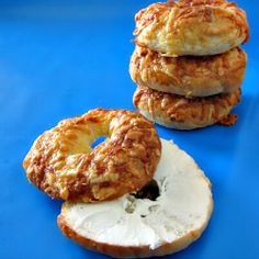 Asiago Bagels  my absolute favorite flavor from Panara Breads!