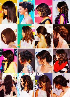 Selena Gomez = AMAZING hair.