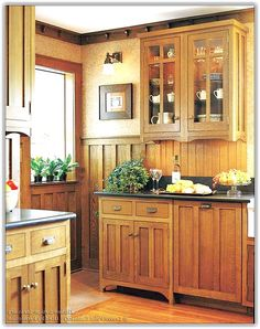 Craftsman Kitchen Cabinets For Sale - When renovating or remodeling a kitchen your choice of kitchen cabinets might be the Kitchen Cabinets Pictures, Custom Kitchen Cupboards, Kitchen Design, Bungalow Kitchen, Kitchen Cabinet Styles, Kitchen Styling, Kitchen Cabinets, Craftsman Kitchen Cabinets, Mission Style Kitchens