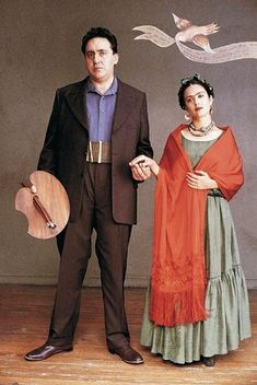 Salma Hayek and Alfred Molina are Frida Kahlo and Diego Rivera in Frida