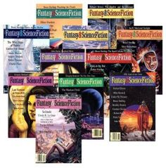 """Fantasy and Science Fiction is one of the major magazines of the genre. They pay 7-12 cents a word, up to 25,000 words. That adds up to a possible $3,000 payment.  They want stories that appeal to """"all fantasy and science fiction readers."""" They are particularly interested in recieving more submissions of humorous stories."""