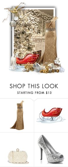 """Merry Christmas 2015"" by majezy ❤ liked on Polyvore featuring Marchesa, GUESS, Sole Society and Nate Berkus"