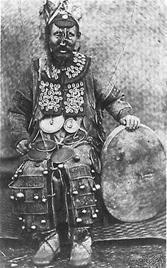 Koryak / Evenk shamanic regalia.