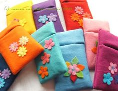Cozies for cell phones