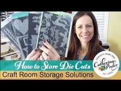 Storage Solutions for Die cutting with Catherine Pooler http://www.catherinepooler.com/?p=29769  #craftroomorganization