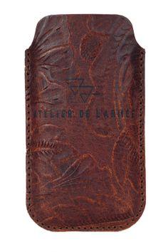 leather iPhone 5 sleeve