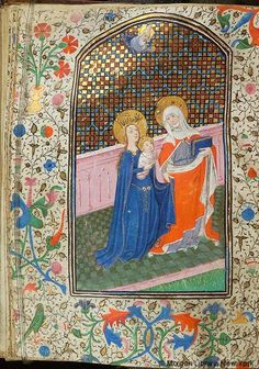 Book of Hours, MS W.3 fol. 191v - Images from Medieval and Renaissance Manuscripts - The Morgan Library & Museum