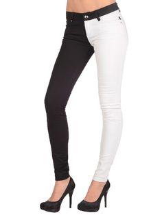 split leg skinny