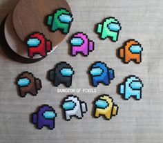Easy Perler Bead Patterns, Melty Bead Patterns, Diy Perler Beads, Perler Bead Art, Pearler Beads, Fuse Beads, Beading Patterns, Hamma Beads Ideas, Pearl Beads Pattern