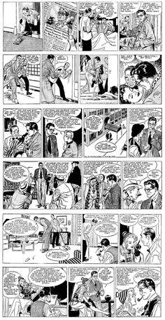 É irônico, diante dos acontecimentos do dia, mas #RipKirby, o detetive conhecido no Brasil como #NickHolmes, estreou a sua tira em quadrinhos em 4/3/1946, exatamente 70 anos atrás.  Kirby foi criado por #AlexRaymond, um dos maiores quadrinistas de todos os tempos, depois de uma sugestão de Ward Greene, editor da King Features.