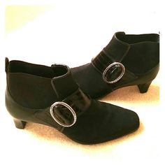 HOST PICK REDUCED - Brighton booties Great Brighton booties. Like NEW!  Two inch heel. Brighton Shoes Ankle Boots & Booties