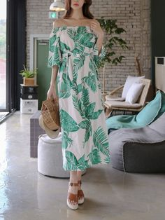 Off Shoulder Printing Waisted Dress_Strapless&Tube Dress_DRESSES_Wholesale clothing, Wholesale Clothes Online From China Tube Dress, Wholesale Clothing, Strapless Dress, Printing, China, Stylish, Shoulder, Sexy, Clothes