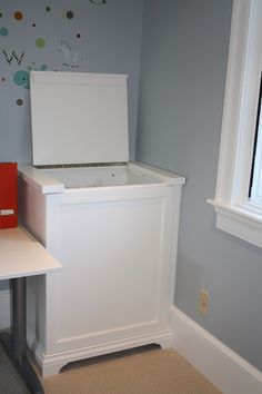 Laundry room with great storage options - eclectic - laundry room - charlotte - Hardwood Creations
