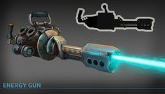 energy gun concept, Sergey Vasnev on ArtStation at https://www.artstation.com/artwork/energy-gun-concept-c5dbab46-4f65-4bc0-b9cf-788e6f7ea173
