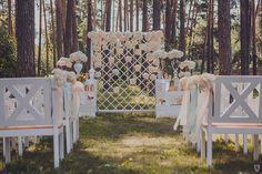 Wedding Decoration for a forest wedding | Ceremony Decor ...