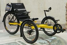Ken's Yellow Rover: Custom � from Utah Trikes