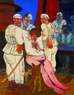 "Edward Dwurnik, ""Izba"",  1973"