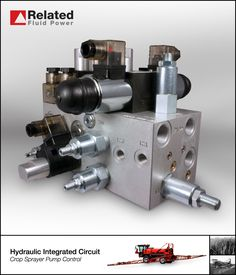 Custom assembly used to control a Find out more about our custom and standard hydraulic manifold systems on our website. Engineering Technology, Mechanical Engineering, Control Valves, Control System, Hydraulic Cylinder, Hydraulic System, Pumps, Website, Gay