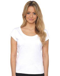 Nakedshirt Helen Damen Cap Sleeve T-Shirt bei MPS MarkenPreisSturz.de  Wir bedrucken und besticken auf Wunsch günstig Ihre Bekleidung.