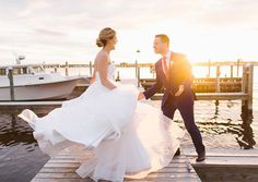Watch their amazing wedding highlight reel! https://vimeo.com/223616027 More at merryweatherfilms.com  After this weekend, I declare that every wedding should have a sunset dock dance party!!! #sarahmckayphotography #sheteppedthat  Watch the video at https://vimeo.com/223616027 video, film, videographer, videography, amazing, elegant, beautiful, romantic, best, Philadelphia, Philly, city, cry, fun, reception, wedding, wedding cinema, cinematic
