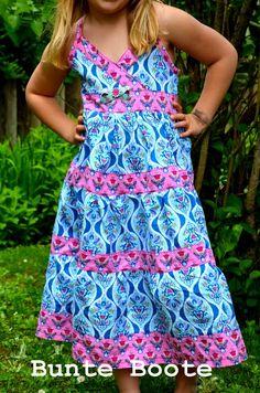Bunte Boote: Let's farbenmix - Woche 2 - Kleid Lorelei
