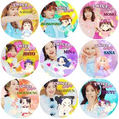 Nayeon, Kpop Girl Groups, Kpop Girls, Twice Songs, Twice Chaeyoung, Japanese Song, Twice Fanart, Pop Stickers, Mini Binder