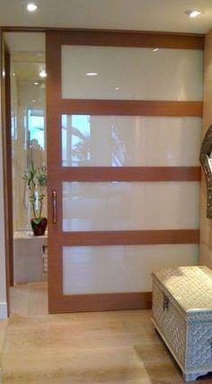 puerta corredera japonesa de cristal y hierro ver ms interior sliding door