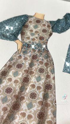 Dress Design Drawing, Dress Design Sketches, Fashion Design Sketchbook, Fashion Design Portfolio, Fashion Design Drawings, Fashion Illustration Tutorial, Dress Illustration, Fashion Illustration Dresses, Fashion Model Sketch