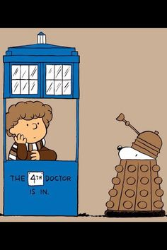 Charlie Brown is the Doctor