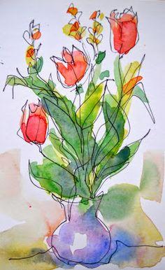 Sketchbook Wandering: Spring Blooms