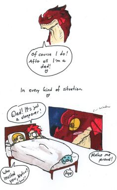 Igneel was asked if he watches over Natsu, LOL