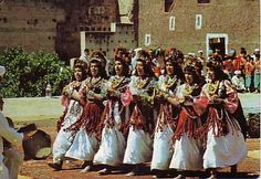 The Guedra trance dance in southern Morocco.