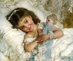 Amies - Girl With Doll