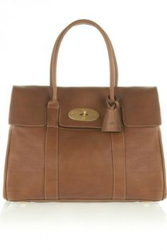 Inspired by Claire Underwood's Bayswater Textured Leather Bag - Mulberry The Bayswater Textured-Leather Bag in Light Brown available at Net-A-Porter.