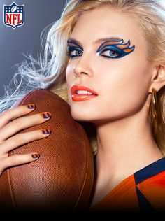 Denver Broncos Makeup Look How-To | COVERGIRL