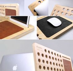 The Bamboo Cooling Pad/Lap Desk is ultra lightweight, super strong, and will absorb the heat from your laptop.