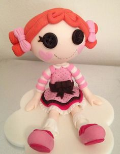 Loopsy Doll Cake Topper edible fondant icing