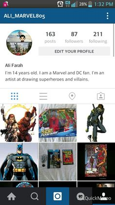 Follow my instagram @ali_marvel805