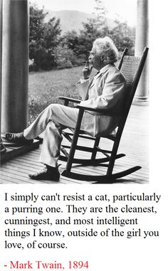 Mark Twain relaxing on a porch in Dublin, New Hampshire, Taken in the author relaxes in a rocking chair on a porch in Dublin, New Hampshire, smoking a cigar. Source: New York Times photo archive Famous Men, Famous People, Rare Historical Photos, Mark Twain Quotes, Art Of Manliness, E Mc2, Writers And Poets, Photo Archive, New Hampshire