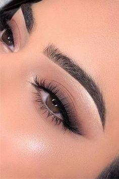 Soft Eye Makeup, Makeup Eye Looks, Eye Makeup Art, Nude Makeup, Day Makeup, Flawless Makeup, Smokey Eye Makeup, Skin Makeup, Eyeshadow Makeup