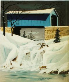 Ralph Hulett Christmas card @Matt Sevits I always think of you when I see these christmas cards