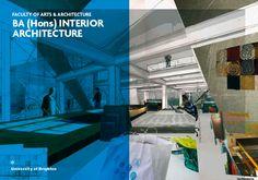Interior Architecture Brochure