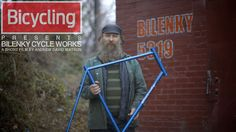 "Bilenky Cycle Works by Andrew David Watson. Long before the resurgence of ""handmade everything"" Stephen Bilenky started a career as a custom bicycle builder.  30 years later, Stephen is still creating works of art in his gritty north philadelphia workshop."